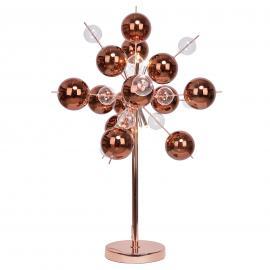 Intéressante lampe à poser Explosion en cuivre