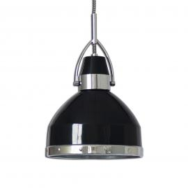 Suspension industrielle Britta, noire