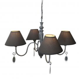 Suspension Susana en gris antique