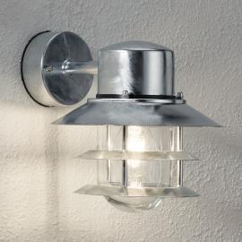 Applique lampe vers le bas BLOKHUS galvanisée