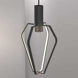 Suspension LED ouverte Spider