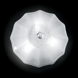 Plafonnier Augustine blanc 50 cm