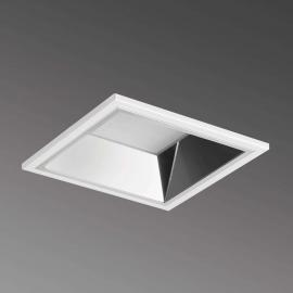 Downlight encastré LED carré Noviel M PRE, 3000K