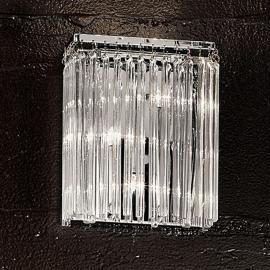 Ravissante applique FUTURE avec tiges de verre