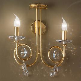 Applique VIOLETTA à 2 ampoules, doré