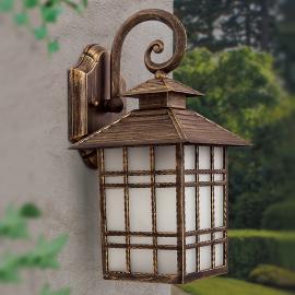 Applique d'extérieur traditionnelle ILKA, lanterne