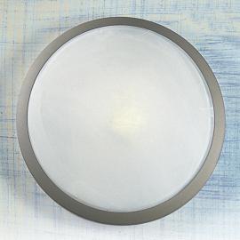Joli plafonnier Corella en titane 32 cm