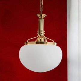 Suspension une lumière DELIA, couleur laiton