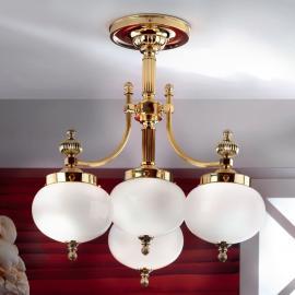 Charmant plafonnier DELIA, 4 lumières