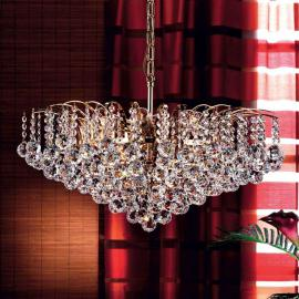 Suspension cristal luxueuse LENNARDA