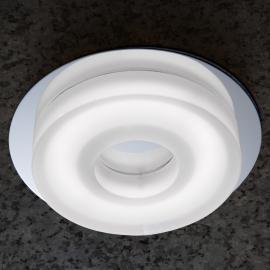 Spot encastrable rond LED Amir blanc