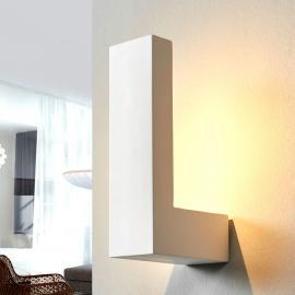 Applique LED Cera blanche en céramique