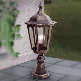 Luminaire pour socle Fabio noir-doré