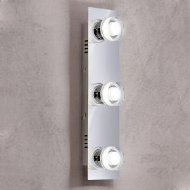 Applique LED Gilian à trois lampes