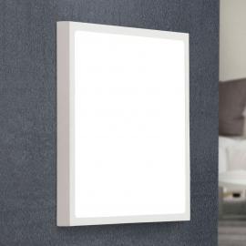 Plafonnier LED Vika de forme carrée, 30 cm