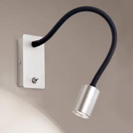 Applique murale Emilia flexible, éclairage LED
