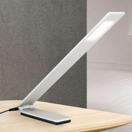 Lampe à poser LED Neville pliable - alu mat