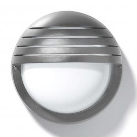 Applique-plafonnier d'ext. EKO 21 GRILL, argenté