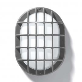 Applique ou plafonnier d'ext. EKO 19/G, argenté