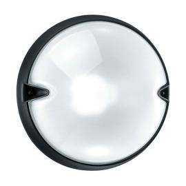 Applique d'extérieur ronde CHIP blanche