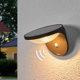 Applique d'extérieur LED Dusk à détecteur