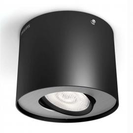 Spot LED downlight LED Phase, noir