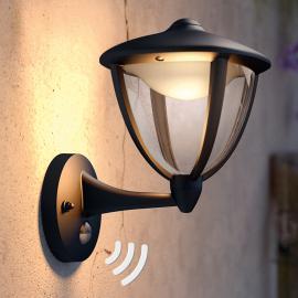 Applique d'extérieur LED Robin avec détecteur