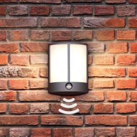 Applique d'extérieur LED Stock avec détecteur