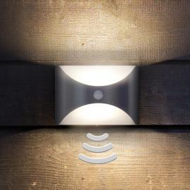 Applique d'extérieur LED Herb avec détecteur