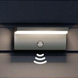 Applique d'extérieur LED Bustan IR avec capteur