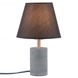Lampe à poser textile Tem aux lignes droites