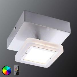 Plafonnier Vidal avec LED RVB et télécommande