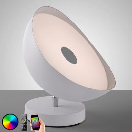 Plafonnier LED intelligent Q-Alexis, 12 W