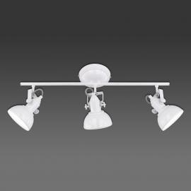 Gina - plafonnier à 3 lampes, design industriel