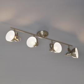 Gina - plafonnier à 4 lampes au design industriel