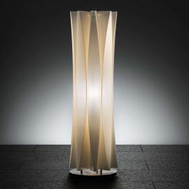 Superbe lampe à poser BACH, hauteur 73 cm, or