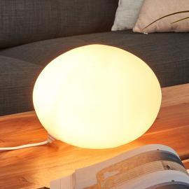 Lampe à poser décorative Verrre Ovale Ø 24 cm
