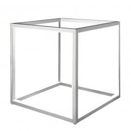 Lampe à poser LED Delux, cube, 30 cm