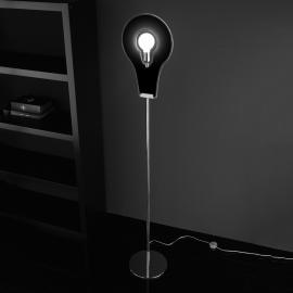 Extraordinaire lampadaire Flat noir