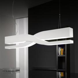 Suspension design Fifi 60 cm blanche