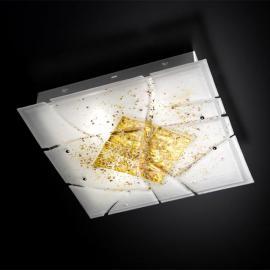 Plafonnier carré Frame E27