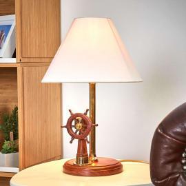 Remarquable lampe à poser STEERING en bois