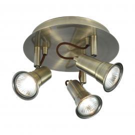 Plafonnier de forme ronde EROS à 3 lampes
