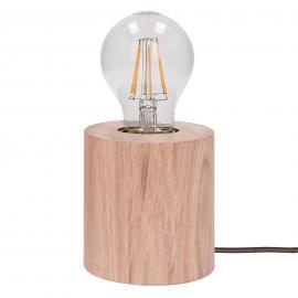 Trongo - lampe à poser en bois Trongo chêne huilé