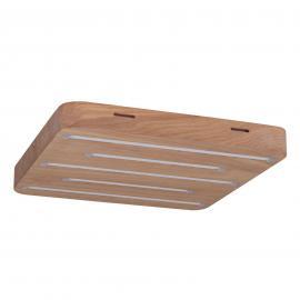 Plafonnier LED Plafond Holz carré