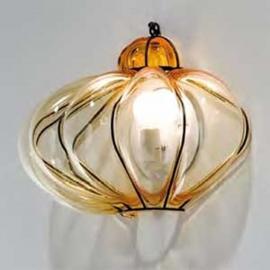 Applique SULTANO en verre de Murano 33 cm