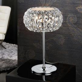 Lampe à poser DIAMOND dotée de cristaux 24