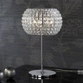 Lampe à poser DIAMOND dotée de cristaux 33