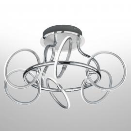 Plafonnier LED Olympus à six lampes