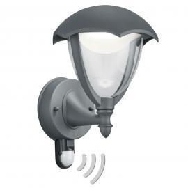 Applique extérieure Gracht LED capteur anthracite